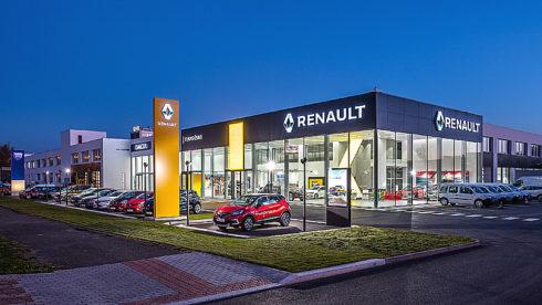Autoperiskop.cz  – Výjimečný pohled na auta - Největší showroom značek Renault a Dacia otevřela skupina TUkas v Praze Malešicích pod názvem TUkas ČSAO