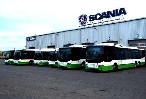 Autoperiskop.cz  – Výjimečný pohled na auta - Scania předala 6 CNG autobusů ČSAD Havířov a Karviná