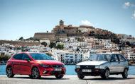 Autoperiskop.cz  – Výjimečný pohled na auta - První a nejnovější generace modelu SEAT Ibiza se setkaly na ostrově, po němž jsou pojmenovány
