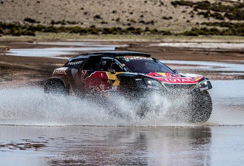 Autoperiskop.cz  – Výjimečný pohled na auta - PEUGEOT 3008DKR Maxi na 8.etapě Dakaru UYUNI – TUPIZA opět vítězně