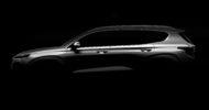 Autoperiskop.cz  – Výjimečný pohled na auta - Hyundai zveřejnil první snímek čtvrté generace Santa Fe