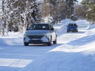 Autoperiskop.cz  – Výjimečný pohled na auta - Hyundai NEXO a Kona Electric zvládnou i extrémní podmínky u severního polárního kruhu