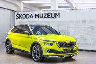 Autoperiskop.cz  – Výjimečný pohled na auta - Hliněný model ŠKODA VISION X exkluzivně vystaven ve ŠKODA Muzeu