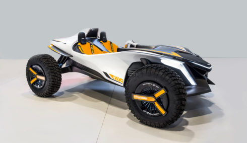Autoperiskop.cz  – Výjimečný pohled na auta - Hyundai Kite: Koncept dvouúčelové elektrické buggy vznikl ve spolupráci s IED