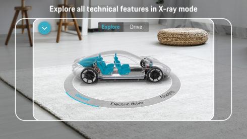 """Autoperiskop.cz  – Výjimečný pohled na auta - Porsche představuje aplikaci """"Mission E Augmented Reality"""""""