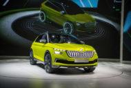 Autoperiskop.cz  – Výjimečný pohled na auta - Autosalon v Ženevě 2018: Prezentace společnosti ŠKODA AUTO ve fotografiích