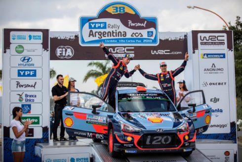 Autoperiskop.cz  – Výjimečný pohled na auta - Hyundai obsadil v Rallye Argentina dvě místa na stupních vítězů a zvětšil svůj náskok v průběžném pořadí mistrovství světa