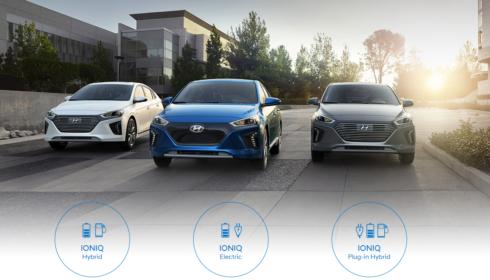 Autoperiskop.cz  – Výjimečný pohled na auta - Hyundai se zúčastní Czech New Energies Rallye 2018 s celou modelovou řadou ekologicky šetrných vozů IONIQ