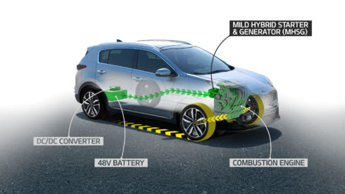 Autoperiskop.cz  – Výjimečný pohled na auta - Zcela nový naftový Mild-hybrid Kia s 48 V elektromotorem
