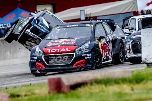 Autoperiskop.cz  – Výjimečný pohled na auta - Sébastien Loeb vítězí, Timmy Hansen třetí!  Dvě umístění na stupních vítězů pro Team Peugeot Total ve WRX