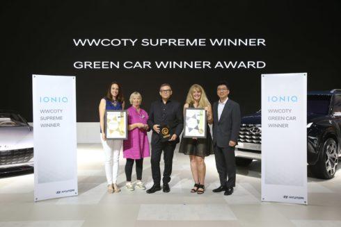 """Autoperiskop.cz  – Výjimečný pohled na auta - Hyundai IONIQ 2018 získal ocenění """"Světové auto roku pro ženy"""""""