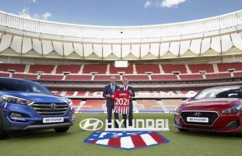 Autoperiskop.cz  – Výjimečný pohled na auta - Hyundai uzavřel dlouhodobé partnerství s Atlético de Madrid