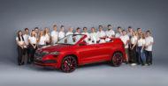 Autoperiskop.cz  – Výjimečný pohled na auta - ŠKODA SUNROQ: Žáci podnikového učiliště ŠKODA AUTO představují pátý žákovský vůz