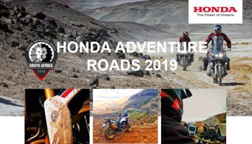 Honda Motor Europe: Projekt Adventure Roads přivádí Hondu Africa Twin na jižní polokouli