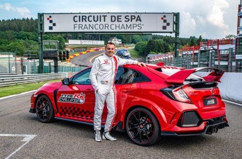 Autoperiskop.cz  – Výjimečný pohled na auta - 'Type R Challenge 2018' udeřil v Eau Rouge: Hvězda japonské Super GT Bertrand Baguette překonal jednokolový traťový rekord na okruhu Spa-Francorchamps