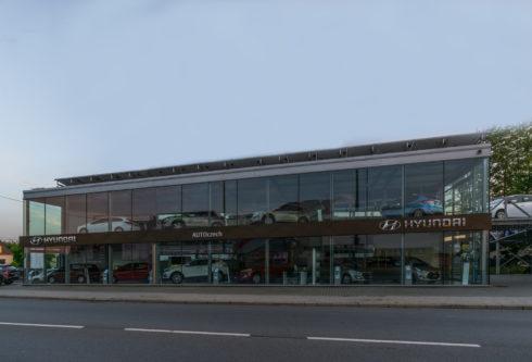 """Autoperiskop.cz  – Výjimečný pohled na auta - Označení """"Nadstandardní obchodní partner pro trh"""" získala společnost AutoCZECH, obchodní partner značky Hyundai"""