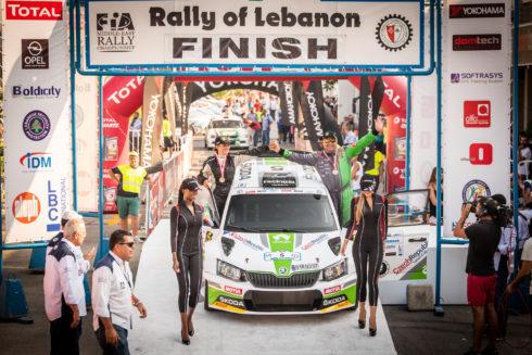 Autoperiskop.cz  – Výjimečný pohled na auta - Rally of Lebanon 2018: Páté místo na černém ledu