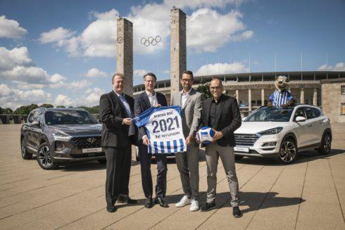 Autoperiskop.cz  – Výjimečný pohled na auta - Hyundai se stal partnerem německého fotbalového klubu Hertha BSC