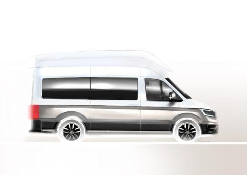 Autoperiskop.cz  – Výjimečný pohled na auta - Volkswagen Užitkové vozy odhalí na veletrhu Caravan Salon 2018 nový kempinkový vůz