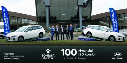 Autoperiskop.cz  – Výjimečný pohled na auta - Vozy značky Hyundai zvítězily ve výběrovém řízení společnosti Bohemia Energy