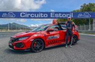 Autoperiskop.cz  – Výjimečný pohled na auta - Jezdec Tiago Monteiro vytvořil s vozem Honda Civic Type R nový okruhový rekord na portugalském závodním okruhu Estoril