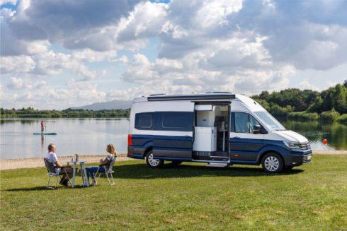 Autoperiskop.cz  – Výjimečný pohled na auta - Ohňostroj novinek v expozici značky Volkswagen Užitkové vozy na výstavě Caravan Salon 2018