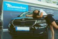 Autoperiskop.cz  – Výjimečný pohled na auta - Andrea Kalousová se stala novou tváří značky pro zánovní vozy Mototechna