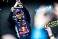 Autoperiskop.cz  – Výjimečný pohled na auta - Sébastien Loeb při WRX v Lotyšsku získal pro PEUGEOT další stupně vítězů