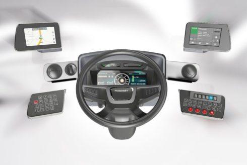 Autoperiskop.cz  – Výjimečný pohled na auta - Modulární pracoviště řidiče: společnost Continental přináší digitální éru i do autobusů