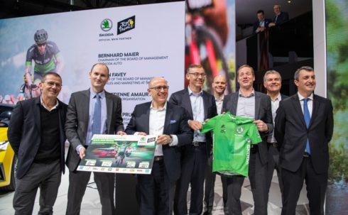 Autoperiskop.cz  – Výjimečný pohled na auta - ŠKODA prodlužuje sponzoringové partnerství s pořadatelem Tour de France A.S.O. do roku 2023