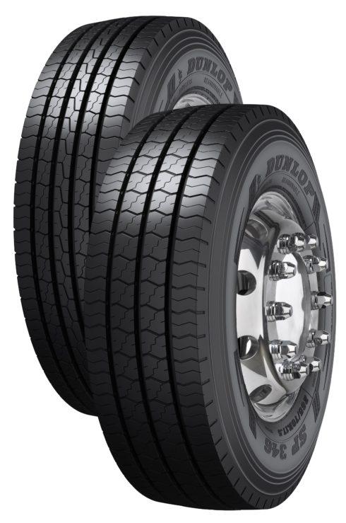 """Autoperiskop.cz  – Výjimečný pohled na auta - Dunlop uvádí na trh nákladní pneumatiky SP346 a SP446 o rozměru 17.5"""" a 19.5"""""""