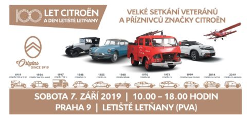 Autoperiskop.cz  – Výjimečný pohled na auta - SETKÁNÍ 100 LET CITROËN – spuštění registrací pro veřejnost