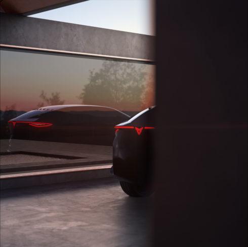 Autoperiskop.cz  – Výjimečný pohled na auta - CUPRA ukazuje letmý pohled na svou vizi budoucnosti vpodobě exkluzivního koncepčního elektromobilu