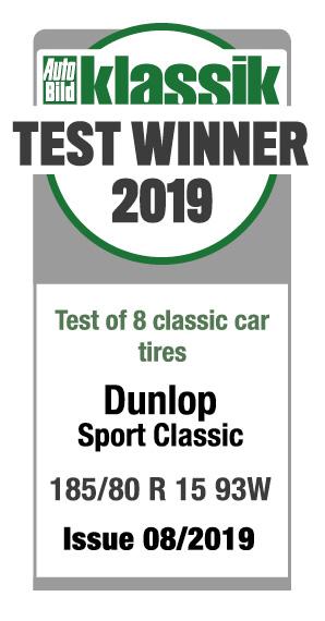 Autoperiskop.cz  – Výjimečný pohled na auta - Dunlop Sport Classic už druhým rokem vítězí v testu vintage pneumatik časopisu Auto Bild Klassik