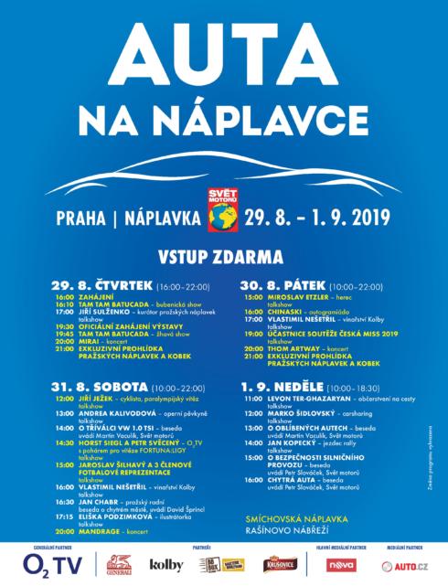 Autoperiskop.cz  – Výjimečný pohled na auta - Auta na náplavce startují již ve čtvrtek!