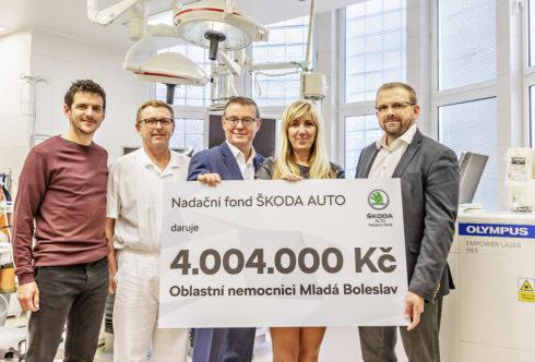 Autoperiskop.cz  – Výjimečný pohled na auta - Nadační fond ŠKODA AUTO přispívá ke zlepšení kvality života v Mladé Boleslavi