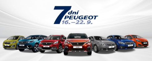 Autoperiskop.cz  – Výjimečný pohled na auta - Akce 7 dní Peugeot slibuje skvělé výbavy za skvělé ceny