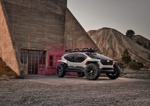 Autoperiskop.cz  – Výjimečný pohled na auta - Terénní automobil na cestě do budoucnosti –  Audi AI:TRAIL quattro