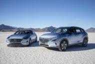 Autoperiskop.cz  – Výjimečný pohled na auta - Koncepční vozy Hyundai NEXO a Sonata Hybrid dosáhly rychlostních rekordů