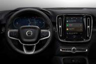 Autoperiskop.cz  – Výjimečný pohled na auta - S plně elektrickým Volvem XC40 bude představen zbrusu nový systém infotainmentu, využívající operační systém Android s integrovanými technologiemi Google