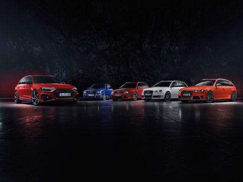 Autoperiskop.cz  – Výjimečný pohled na auta - Modernizace supersportovního kombi:  Nové Audi RS 4 Avant