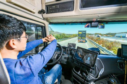 Autoperiskop.cz  – Výjimečný pohled na auta - Hyundai úspěšně realizoval zkušební autonomní jízdu návěsových souprav v konvoji