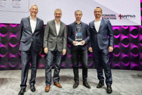 """Autoperiskop.cz  – Výjimečný pohled na auta - Projekt """"dProdukce"""" společnosti ŠKODA AUTO získal ocenění Automotive Lean Production Award"""