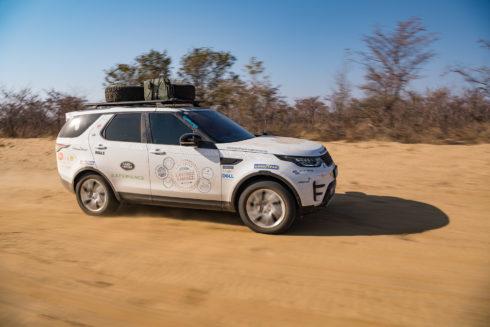 Autoperiskop.cz  – Výjimečný pohled na auta - Goodyear oficiálním dodavatelem pneumatik pro Land Rover Experience Tour v Národním parku Kavango-Zambezi