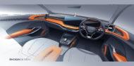 Autoperiskop.cz  – Výjimečný pohled na auta - Koncepční studie ŠKODA VISION IN: Interiérová skica nabízí výhled na nové kompaktní SUV pro indický trh