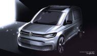 Autoperiskop.cz  – Výjimečný pohled na auta - Volkswagen Užitkové vozy prezentuje další skici nového modelu Caddy před jeho světovou premiérou v únoru 2020