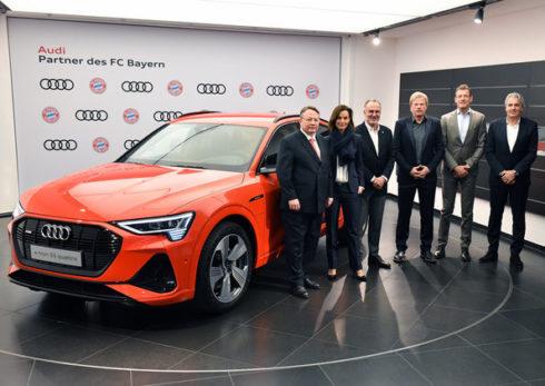 Autoperiskop.cz  – Výjimečný pohled na auta - Audi a FC Bayern společně kráčí vstříc budoucnosti