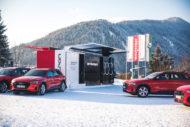 Autoperiskop.cz  – Výjimečný pohled na auta - Audi poskytuje na Světovém ekonomickém fóru vDavosu řešení pro trvale udržitelnou mobilitu a nabíjení
