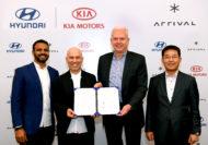 Autoperiskop.cz  – Výjimečný pohled na auta - Kia a Hyundai učinily strategickou investici do firmy Arrival za účelem společného vývoje elektrických užitkových vozů