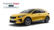 Autoperiskop.cz  – Výjimečný pohled na auta - Trophée Argus pro značku Kia: nový XCeed vítězí v kategorii 'Kompaktní a rodinná SUV'